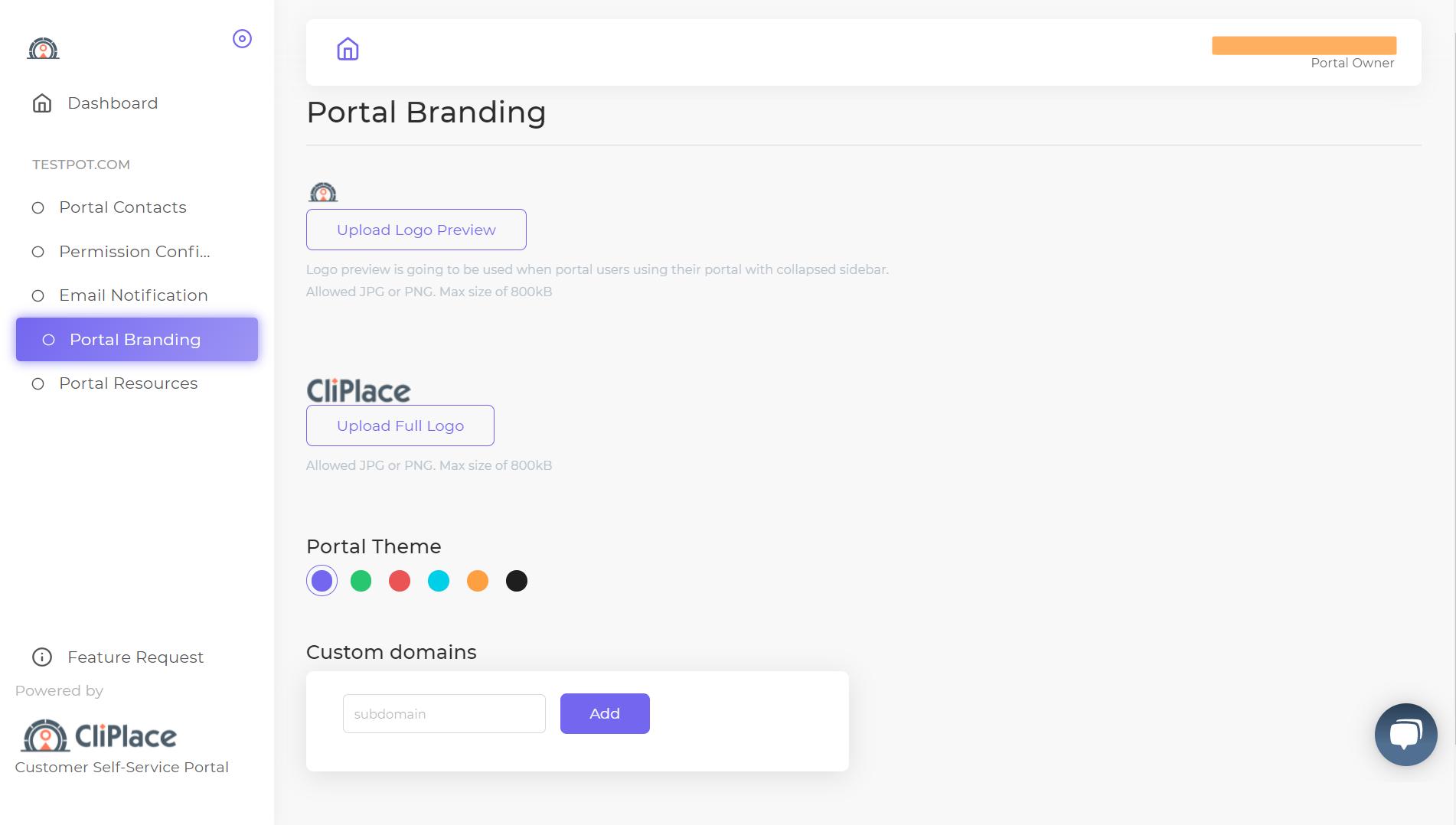 cliplace-branding-portal